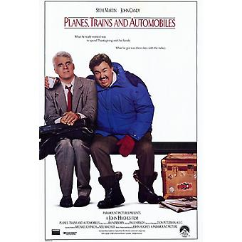 Planes Trains & Automobiles Movie Poster Print (27 x 40)