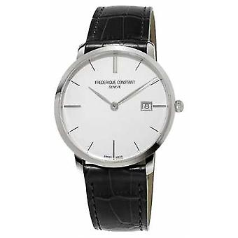 Frederique Constant Mens Slim Line Leather FC-220S5S6 Watch
