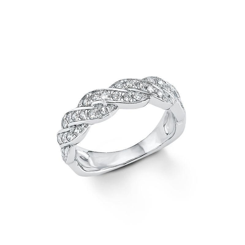 s.Oliver Jewel Damen Ring Silber Zirkonia SO1133