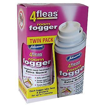 4fleas Room Fogger With Igr Twinpack 100ml (Pack of 3)
