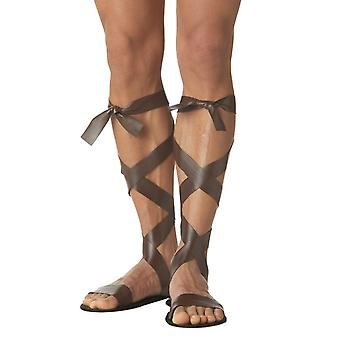 Roman Warrior Gladiator Hercules Sandals Costume Sandals