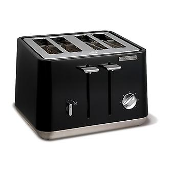 MORPHY RICHARDS Toaster Aspect Black 4 Discs