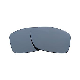 New SEEK Replacement Lenses for Oakley JUPITER SQUARED Grey Silver Mirror
