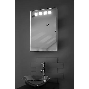 Nova LED Illuminated Bathroom Cabinet With Sensor & Shaver k254