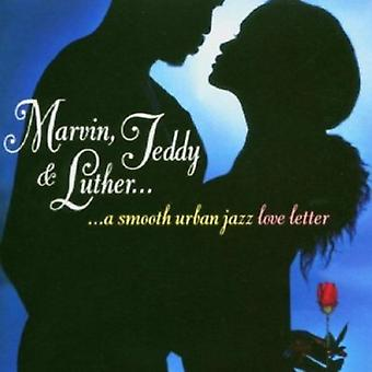 Marvin Teddy & Luther-Smooth Urban Jazz Love Lette - Marvin Teddy & Luther-Smooth Urban Jazz Love Lette [CD] USA import