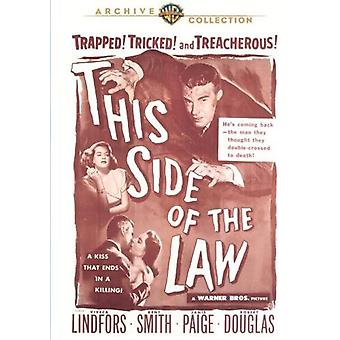 This Side of the Law [DVD] USA import