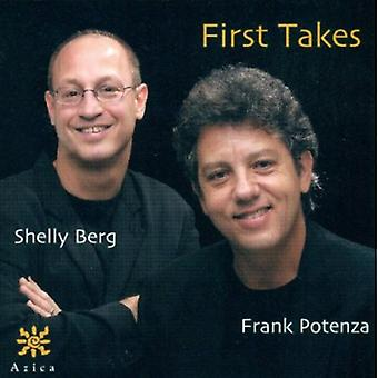 Potenza/Berg - første tager [CD] USA import