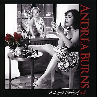 Andrea Burns - dybere nuance af rød [CD] USA import