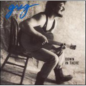 Greg Brown - ned derinde [CD] USA importerer