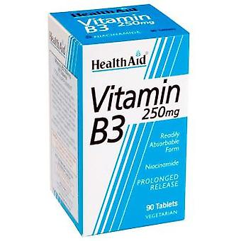 Health Aid Vitamin B3 Niacinamide 90 Tablets (Dieet en voeding , Multvitamines)