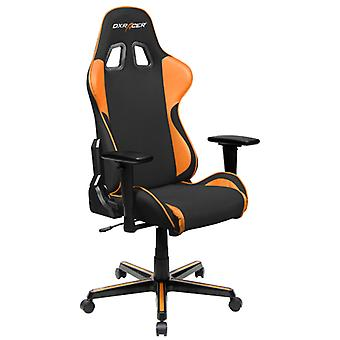DX Racer DXRacer OH/FH11/NO High-Back Ergonomic Office Desk Chair Strong Mesh+PU(Black/0range)