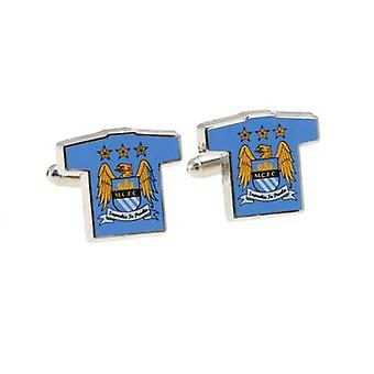 Manchester City Cufflinks Shirt