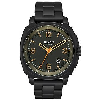 Nixon The Charger Watch - Black/Gold