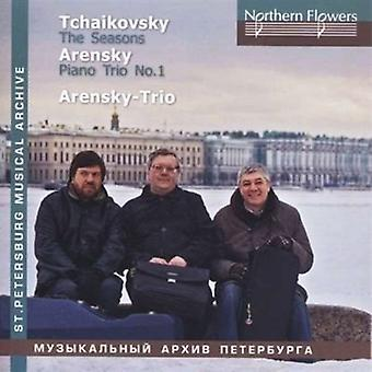 Ioff / Massarsk - Tjajkovskij: The Seasons a. Arensky - klavertrio [CD] USA import