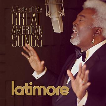 Latimore - Tase of Me: Great American Songs [CD] USA import