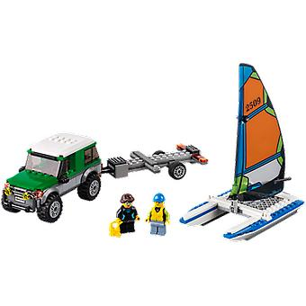 Lego 60149 4X4 With Catamaran (Toys , Constructions , Vehicles)