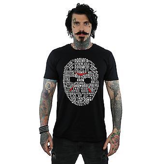 Friday 13th Men's Jason Text Mask T-Shirt