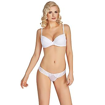 Mio Classic Lovely White Lace Brief M167