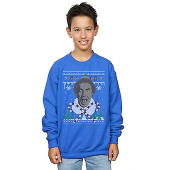 Elf Boys Christmas Fair Isle Sweatshirt
