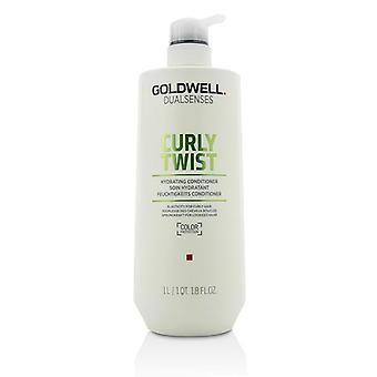 Goldwell Dual Senses Curly Twist Hydrating Conditioner (Elasticity For Curly Hair) - 1000ml/33.8oz