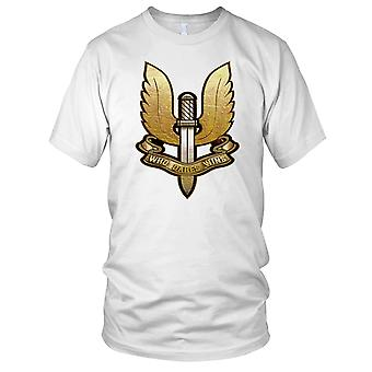 SAS Special Air Service, der es gewinnt Special Forces Damen T Shirt wagt