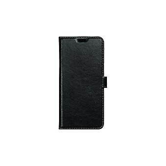 Essentials Galaxy S8 +, Leather Wallet 3 card slots, black