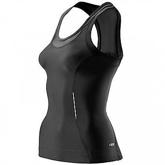 SKINS A200 Women's Compression Racer Back Top black - B61033051