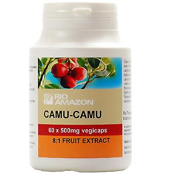 Rio Amazon, Camu Camu 500mg, 60 capsules