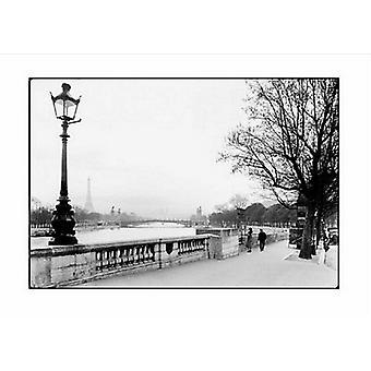 Paris Le Cours La Reine 1927 Poster Print by Lapi-viollet Collection (20 x 16)