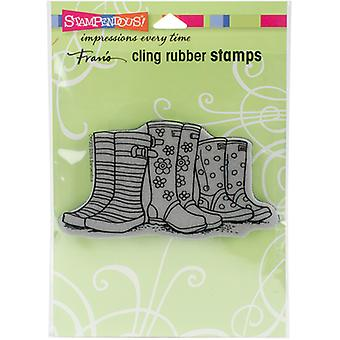 Stampendous Cling Stamp 6.5