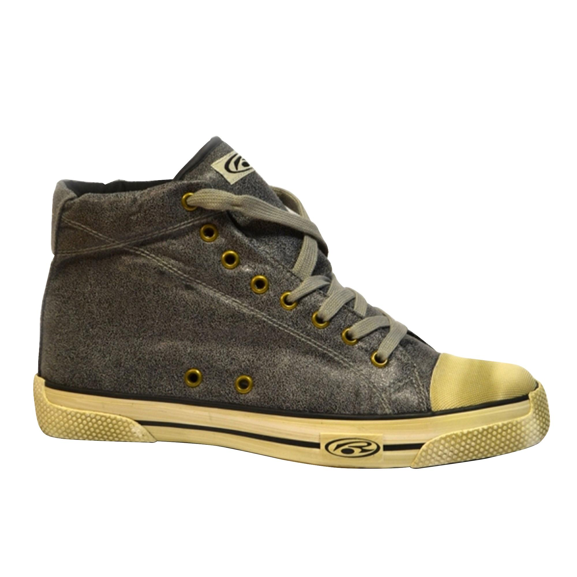 ... rurik antracite leatherette leatherette leatherette angosciato guarda  hightop skate shoes 1dd75b