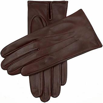 Dents Milton Unlined Hairsheep Leather Gloves - English Tan