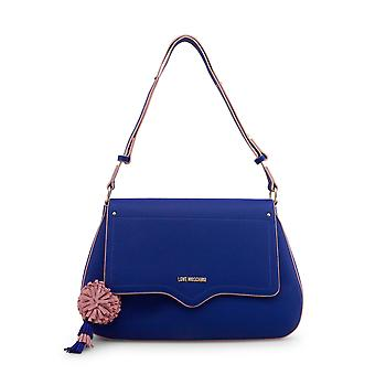 Love Moschino Women Shoulder bags Blue