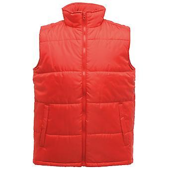 Regatta Mens Classic Bodywarmer Gilet Polyester TRA808 rood