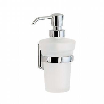 Cabin Holder Glass Soap Dispenser - Polished Chrome CK369