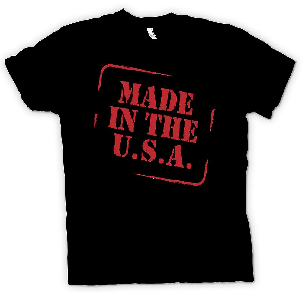 Heren T-shirt - Made In The USA - offerte