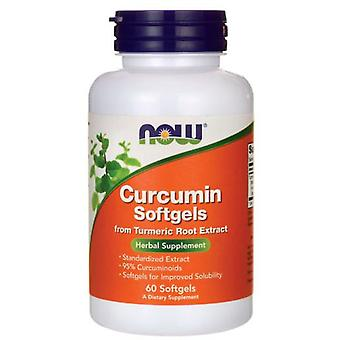 Now Foods Curcumin 60 Softgels (Sport , Athlete's health , Anti oxidants)