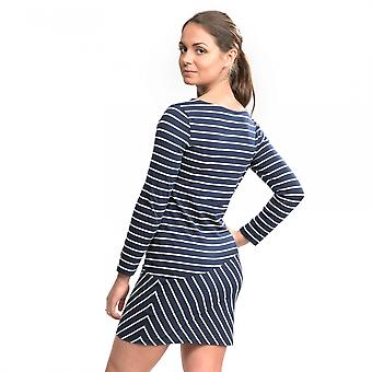 French Connection Spring Tim Tim Long Sleeve Slash Neck Womens Dress