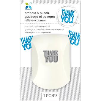Momenta Embossing Punch-Thank You