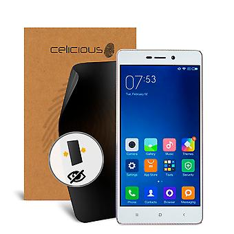 Celicious Privacy 2-Way Visual Black Out Screen Protector for Xiaomi Redmi 3