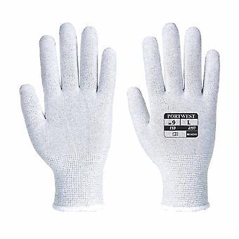 Portwest - antistatiske ESD Shell Liner hanske (1 par Pack)
