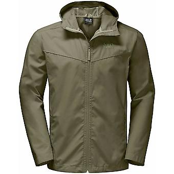 Jack Wolfskin Mens Amber Road Jacket Waterproof and Highly Breathable