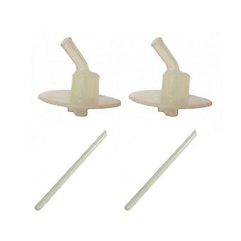 Thermos 2Pk Foogo & FUNtainer Replacement Mouthpieces & Straws