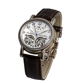 Carl of Zeyten men's watch wristwatch automatic Bernau CVZ0033RWH