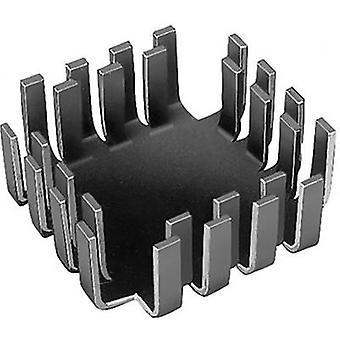 Heat sink (rods) 6.8 C/W (L x W x H) 42 x 42 x 17 mm TO 3, TO 55, SOT 9, SOT 32, TO 220 Fischer Elektronik FK 223 SA-CB