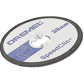 Disco corte (recto) 38 mm 3.2 mm Dremel SC476 2615S476JB 5 PC