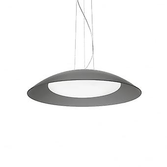 Ideal Lux Lena 3 Bulb Pendant Light D64 Grey