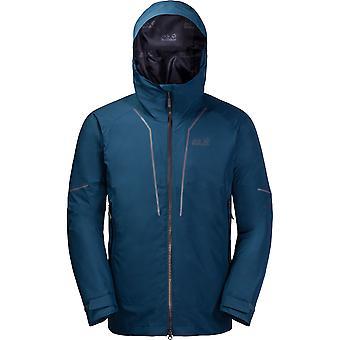 Jack Wolfskin Mens Sierra Trail 3in1 Waterproof Windproof Ski Jacket