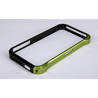Grøn aluminium Bumper Case til Apple iPhone 4/4S