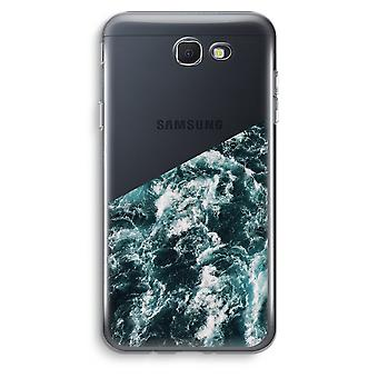 Samsung Galaxy J5 Prime (2017) Transparent Case (Soft) - Ocean Wave